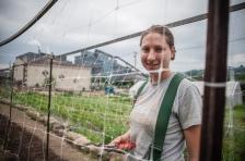 Kristen Hunninen, Senior Apprentice, Braddock Farms, PA