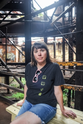 Nina Gibbs, owner of Most Wanted Fine Art in Pittsburgh, PA