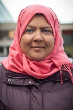 Shayma Al-Hasnawi travelled through seven countries for over a month from Baghdad, Iraq to arrive in Germany with her three sons. The family of four spent $19,000 to make the journey and has no money left upon arrival in Germany.